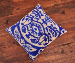 Damask Velvet Ikat Pillow