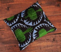 Green Turkish Velvet Cushion