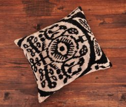 Grey Turkish Velvet Cushion