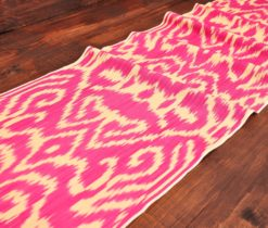 Pink Handmade Cotton Fabric