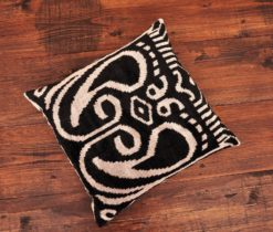 Afgan Black Velvet Cushion