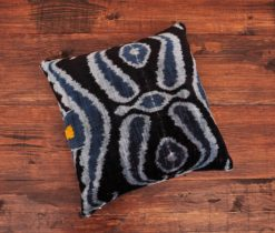 Salihtex Black Velvet Pillow