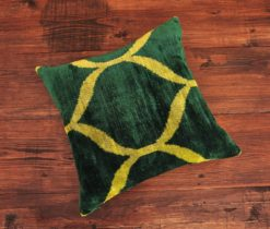 Ogee Velvet Ikat Pillow
