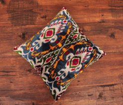 Kilim Green Ikat Pillow