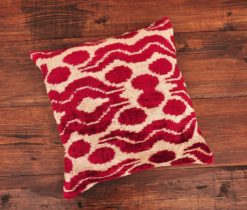 Revival Velvet Ikat Cushion