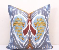 Heart Shaped Silk Cushion