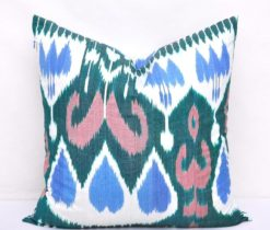 Aboriginal Silk Ikat Pillow