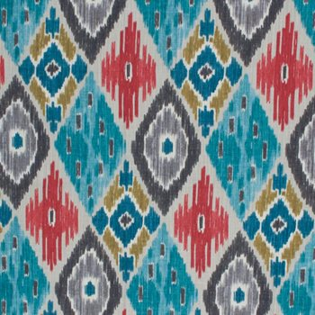 Fashionable colour in ikat fabrics in 2020