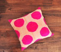 Throw Pillow Dot Polka