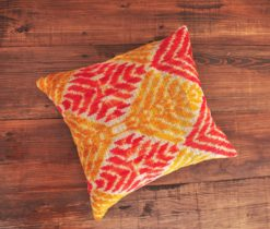 Harlequin Velvet Throw Pillow