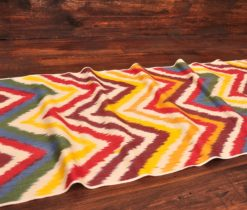 Colourful Chevron Cotton Ikat