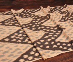 Chevron Brown Handmade Ikat