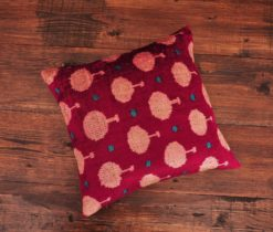 Cute Circle Velvet Pillow