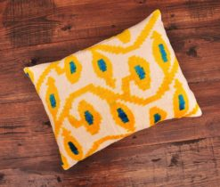Redux Velvet Ikat Pillow