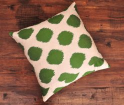 Green Dot Designer Cushion