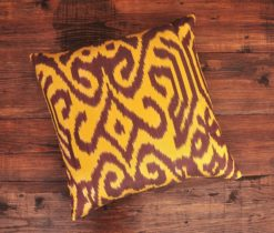 Damask Ikat Sofa Pillow