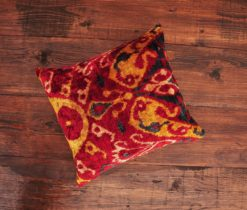 Damask Kilim Velvet Cushion