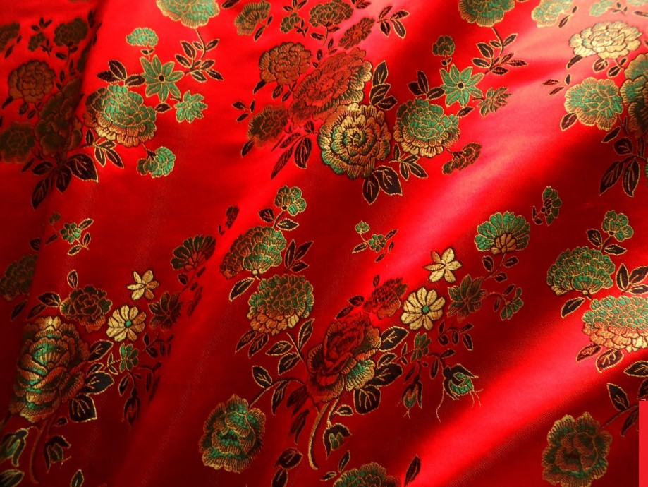 Chinese silk fabric