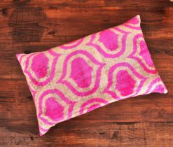 Pink Redux Velvet Cushion