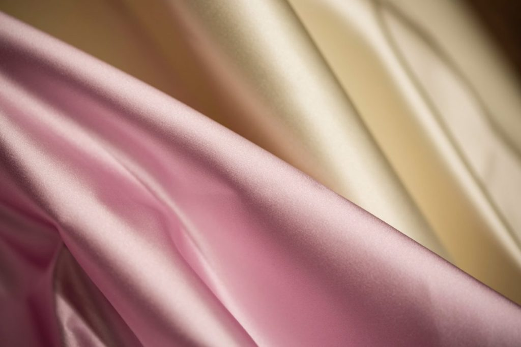 Crepe satin pattern