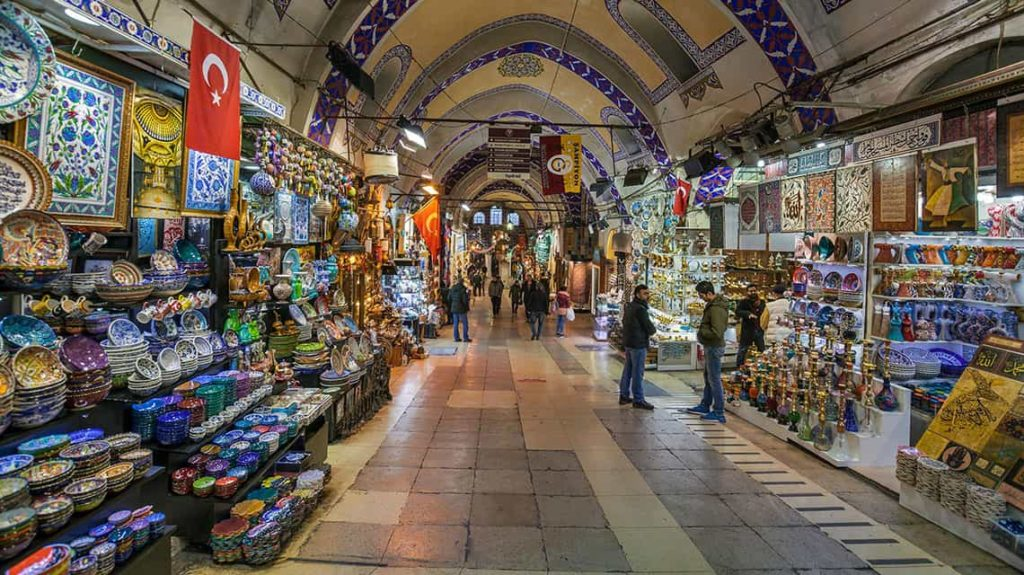 One of the parts of the Grand Bazaar