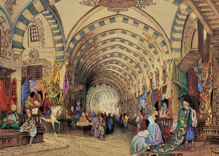 Grand Bazaar in the past
