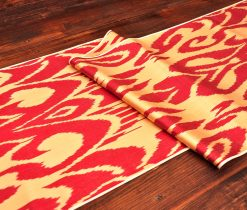 Abstract Royal Ikat Fabric