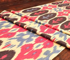 Mix Pattern Ikat Textile